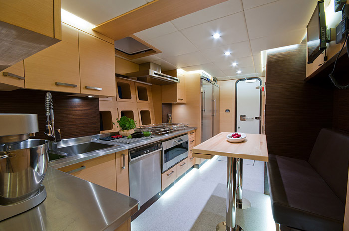 The Galley - Bateau Ipharra 102 Ft Fully Crewed Sunreef Catamaran Super Yacht